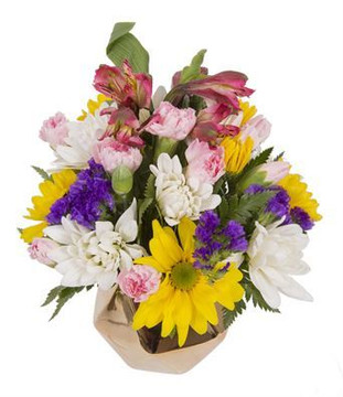 Bright Small Flower Arrangement