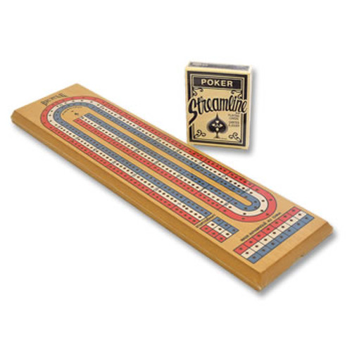 Cribbage Board and Cards