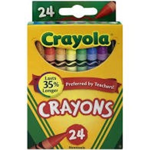 Crayola Color Crayons (24 Pack) *