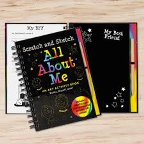 All About Me Trace-Along Activity Books *