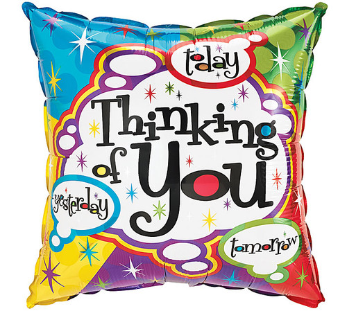 Thinking of You Balloon (Assorted) 18""