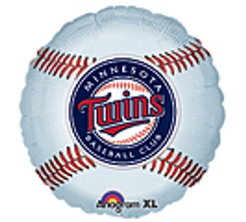 "Minnesota Twins MLB Balloon 18"""
