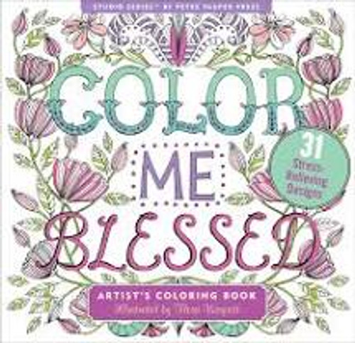 Color me Blessed Artist's Coloring Book (Peter Pauper)