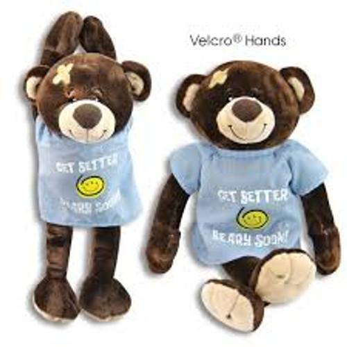 Feel Better Beary Soon Stuffed Bear