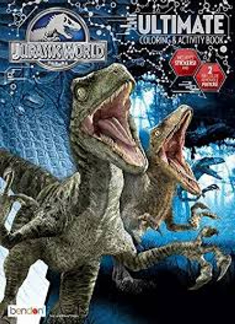 Jurassic World Ultimate Coloring and Activity Book