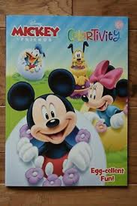 Disney Mickey & Friends Colortivity Book
