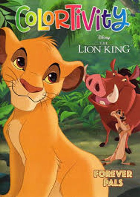 Disney Lion King Colortivity Book