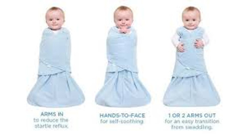 Halo Baby Boy SleepSack Swaddle (The Only 3-Way Swaddle)