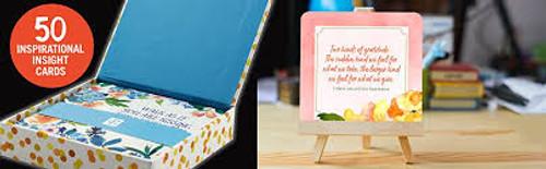 Gratitude Cultivate a Grateful Heart, 50 Inspirational Cards