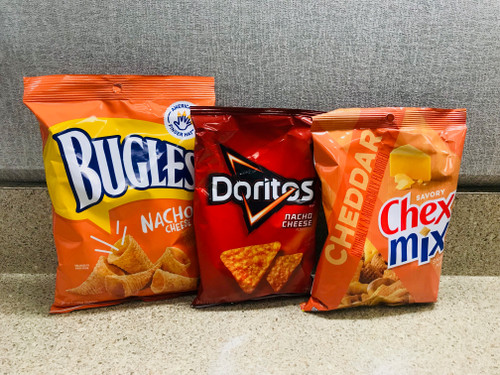 Nacho Cheese and Cheddar Snack pack