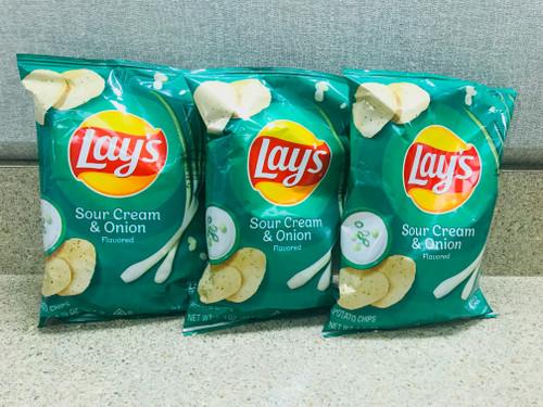 Lays Sour Cream & Onion Chip Trio