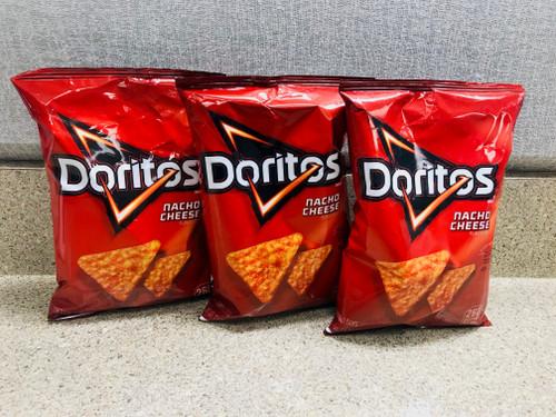 Nacho Cheese Doritos Trio