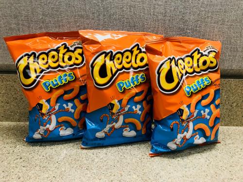 Cheetos Puffs Trio