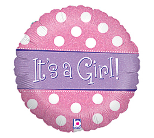 Baby Girl Balloon (Assorted)
