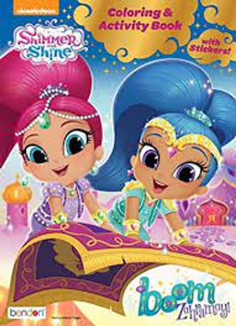 Nickelodeon Shimmer and Shine Coloring & Activity Book with Stickers