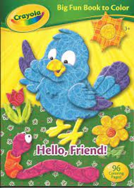 Crayola Big Fun Book to Color 3+