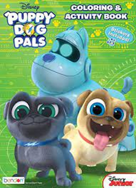 Disney Puppy Dog Pals Coloring & Activity Book
