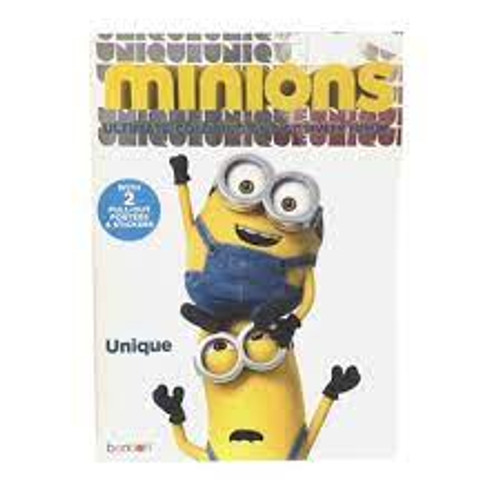 Minions Ultimate Coloring and Activity Book with Pull-Out Posters & Stickers