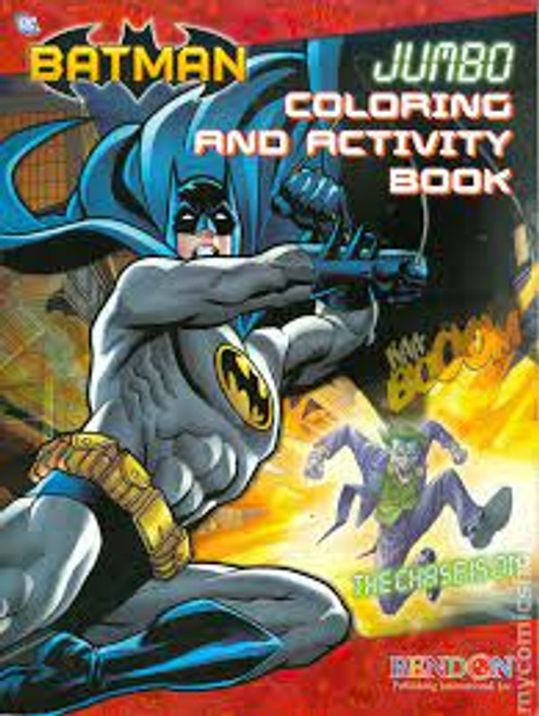 Batman Jumbo Coloring & Activity book