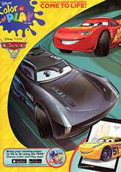 Disney Pixar Cars 3Color and Play