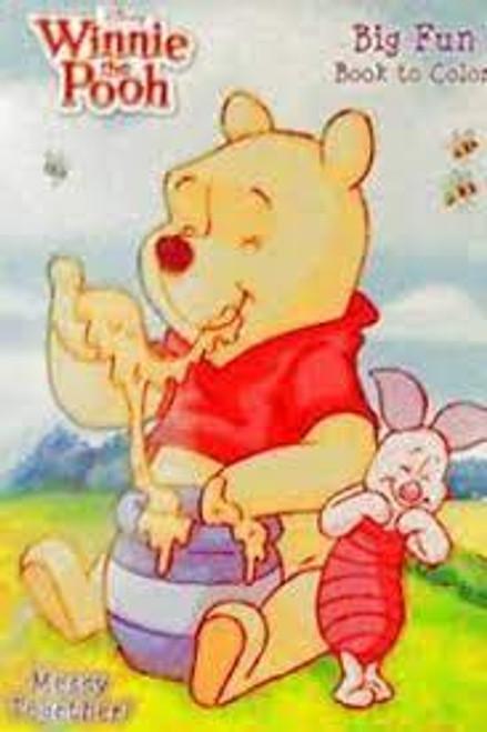 Disney Winnie the Pooh Big Fun Book to Color