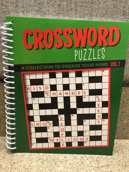 Crossword Puzzles, A Collection to Engage your Mind Vol. 1