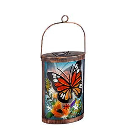 Butterfly Solar Powered Lantern (Evergreen)