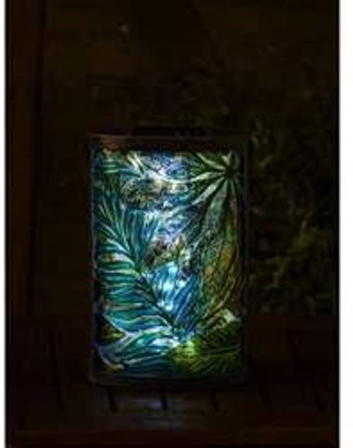 Solar Powered Botanical Garden Lantern (Evergreen)