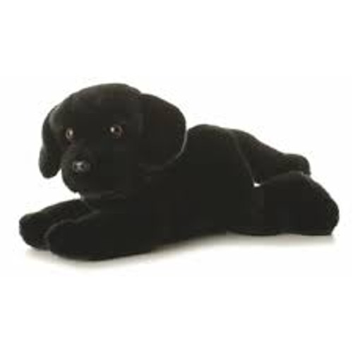 """Cole"" Flopsie Black Lab Dog (Aurora)"