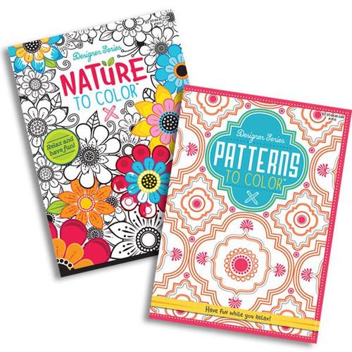 Designer Series  Adult Coloring Book