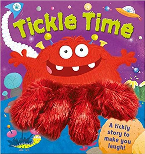 Tickle Time Hardcover Book