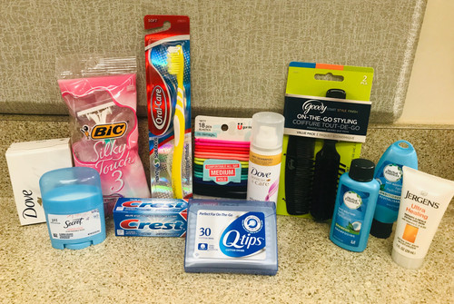 Necessity pack for woman