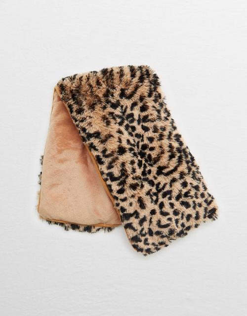 Warmies Leopard Print Neck Wrap