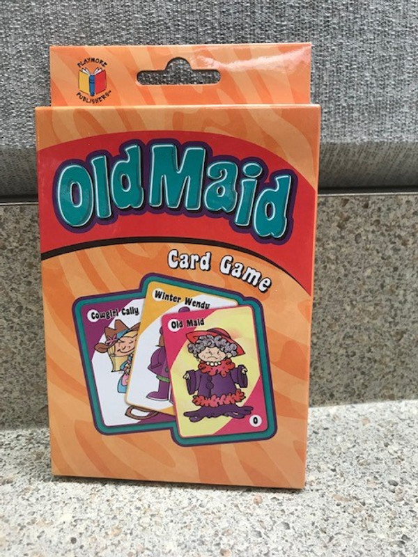 Old Maid Card Game *
