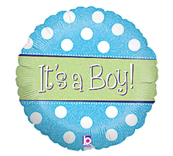 Baby Boy Balloon (Assorted)