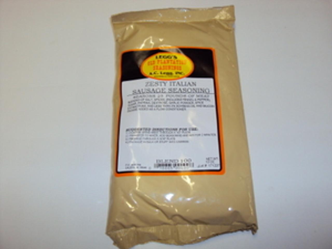 Blend # 100 - Legg's Old Plantation Zesty Italian Sausage Seasoning