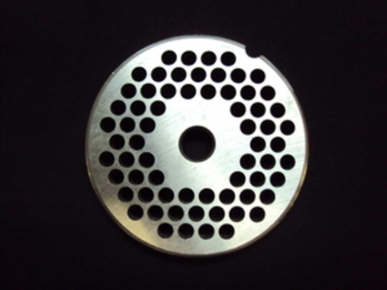 "# 12 x 1/4"" Reversible Grinder Plate - Stainless"
