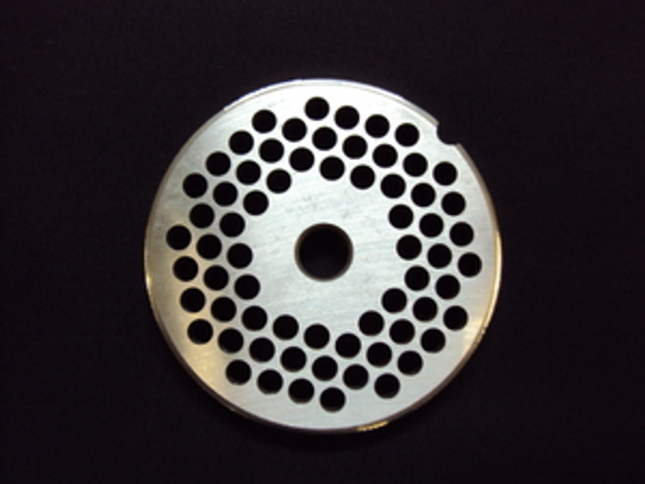 "# 22 x 3/16"" Reversible Grinder Plate - Stainless"