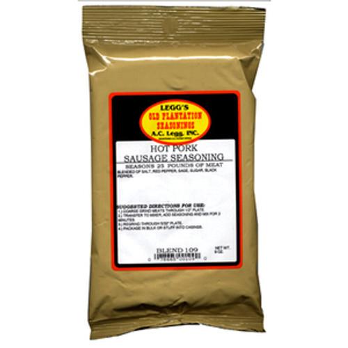 Blend # 109 - Legg's Old Plantation Hot Pork Sausage Seasoning