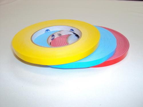Yellow Vinyl Bagging Tape For Stainless Bag Taping Machine