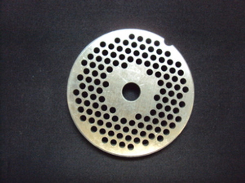 """# 12 x 1/8"""" Reversible Grinder Plate - Stainless"""