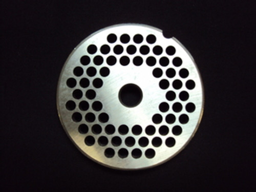 """# 12 x 1/4"""" Reversible Grinder Plate - Stainless"""