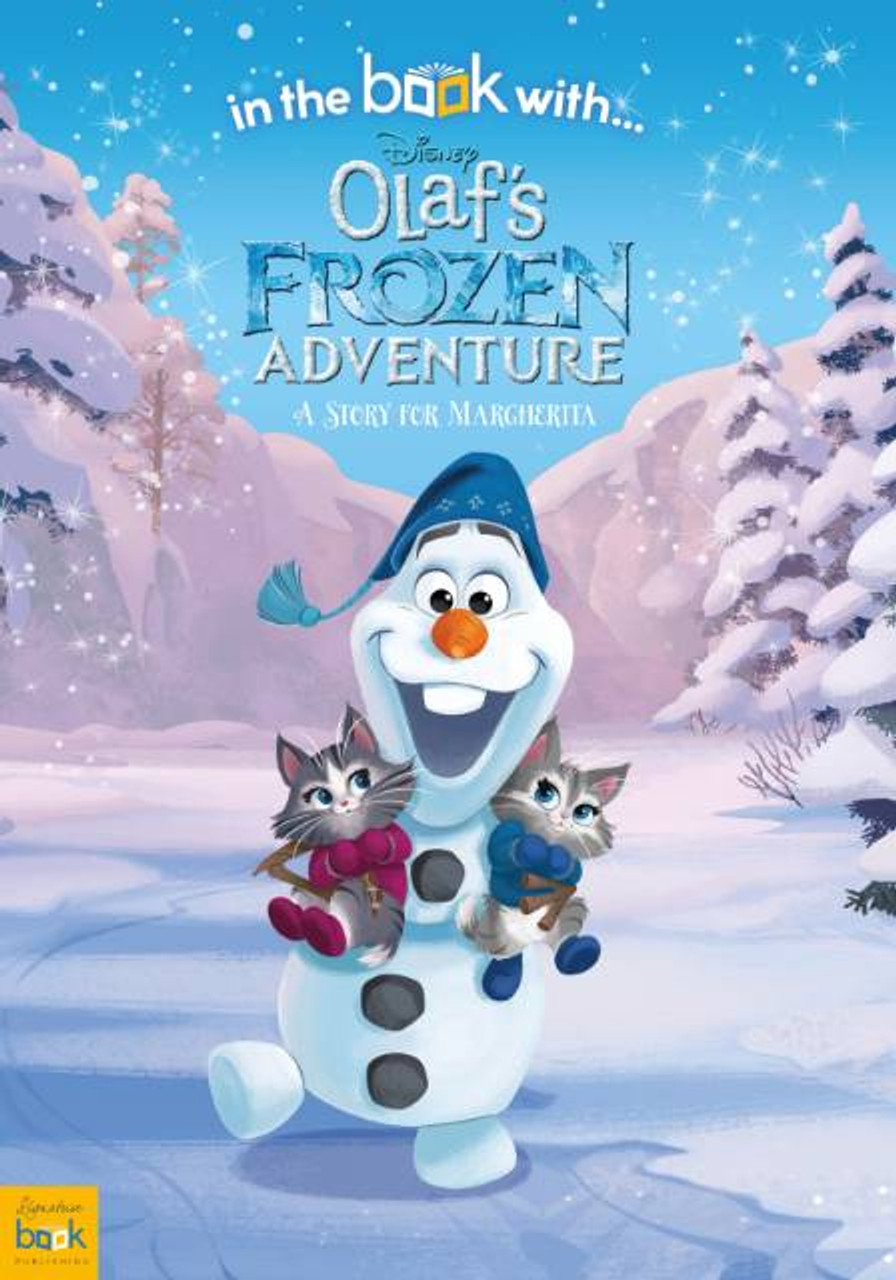 Personalized Disney Olaf's Frozen Adventure Story Book  Personally Yours Books