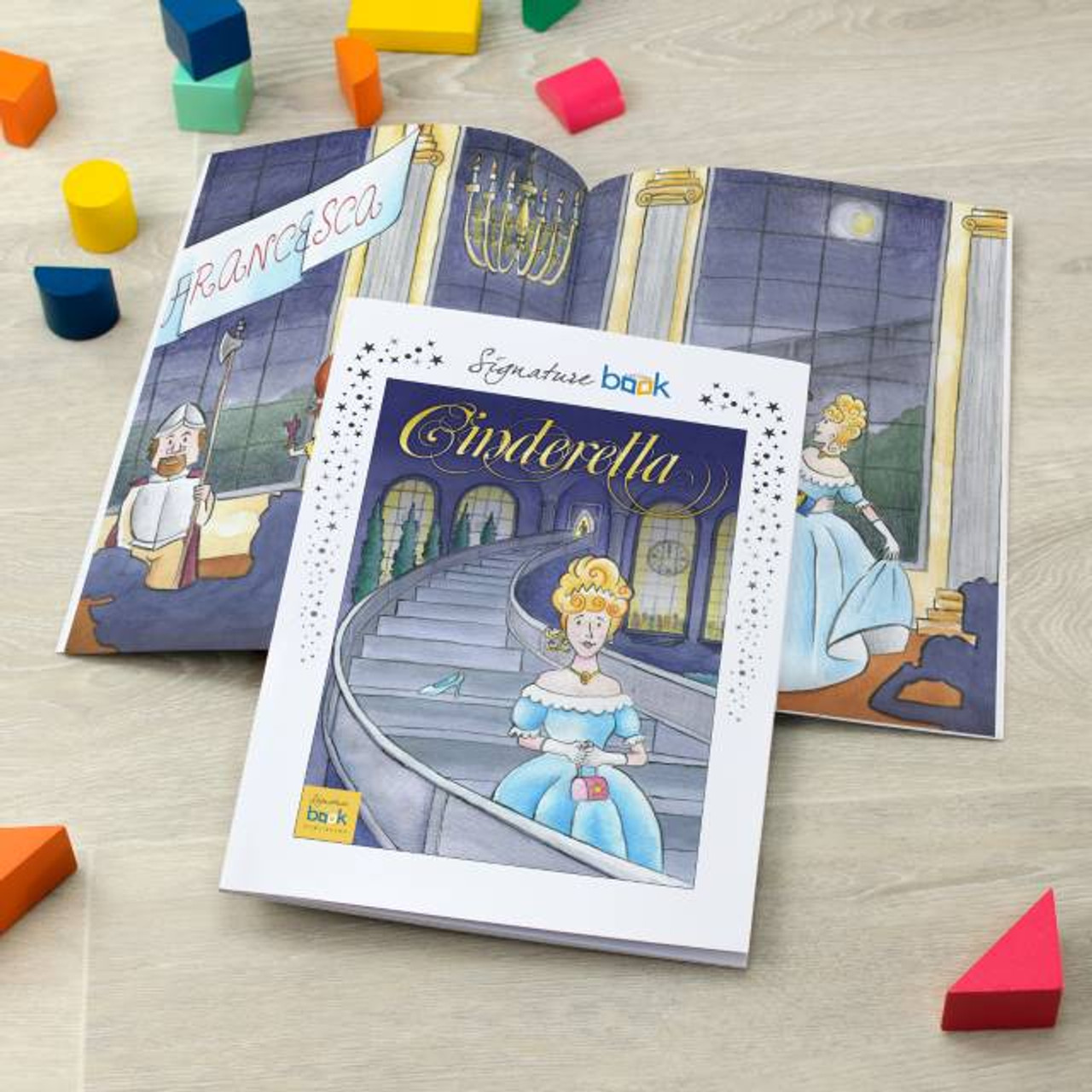 Cinderella Fairytale Book Gifts Book Pouch Book Protector with Pocket