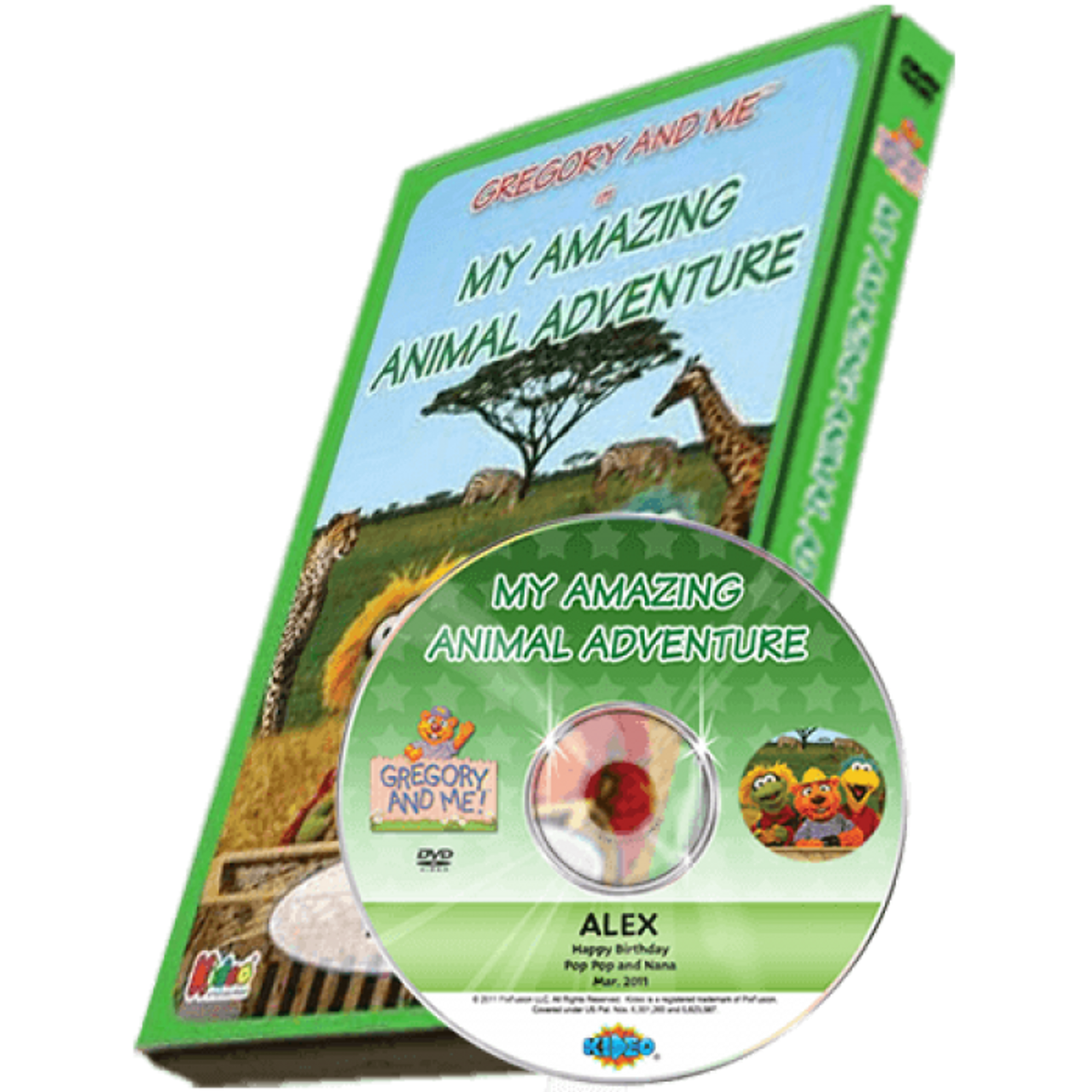 Amazing Animal Adventure Personalized Dvd For Kids Personally Yours Books