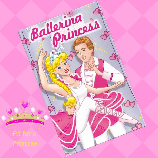 Personalized Book Ballerina Princess