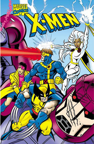 X Men Personalized Kids Book