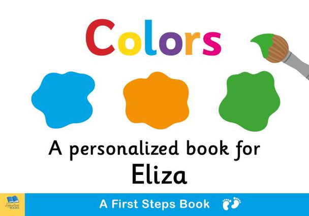 First Steps Colors Board Book for Toddlers