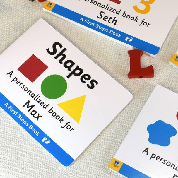 First Steps Shapes Board Book for Toddlers