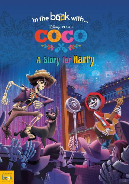 Personalized Disney Coco Story Book